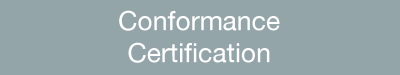 Conformance Certification