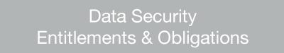Data Security Entitlements and Obligations